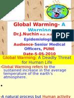 Global Warming- A Warning