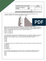 5ª PROVA DE FÍSICA - 9º ANO ENS. FUNDAMENTAL - WANDERSON CARVALHO - MARIA JOSÉ 2021