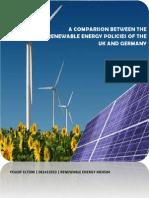 UK&Germany Renewable Energy Policy Comparison Yousif Eltom