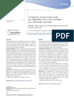 expansion transversale par corticotomie alveolaire