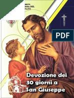 Trentena a San Giuseppe