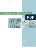 Dodd Frank OTC Derivatives