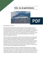 Sinpermiso Argentina Chile No Al Patriotismo 2021-09-05