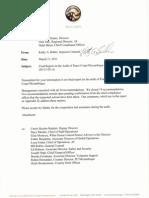 Peace Corps Mozambique Final Audit Report                    IG1105A