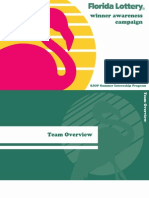St. John & Partners Internship Program - Florida Lottery Campaign