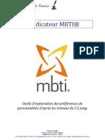 Présentation-MBTI