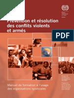 résolution conflits armés