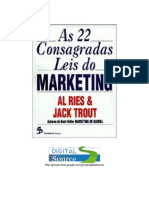 As 22 Consagradas Leis Do Marketing - Al Ries Jack Trout