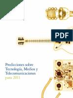 Deloitte. Predicciones sobre Tecnología, Medios y Telecomunicaciones para 2011