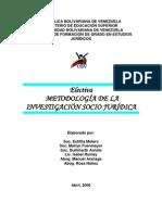 Electiva - Metodología de la Investigación Socio Jurídica