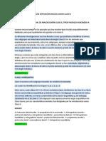 GUIA EXPOSICIÓN MALOCLUSION CLASE II. DEFINITIVA