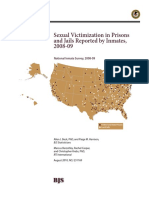 Reported Sexual Victimization in Prisons/Jails