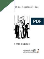 Noam chomsky - El control de nuestra vidas