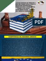 Regimen Organizativo de Los Municipios