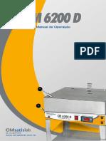 MANUAL OPERAÇÃO + PEÇAS CM 6200 V2