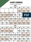Louisville Bats schedule