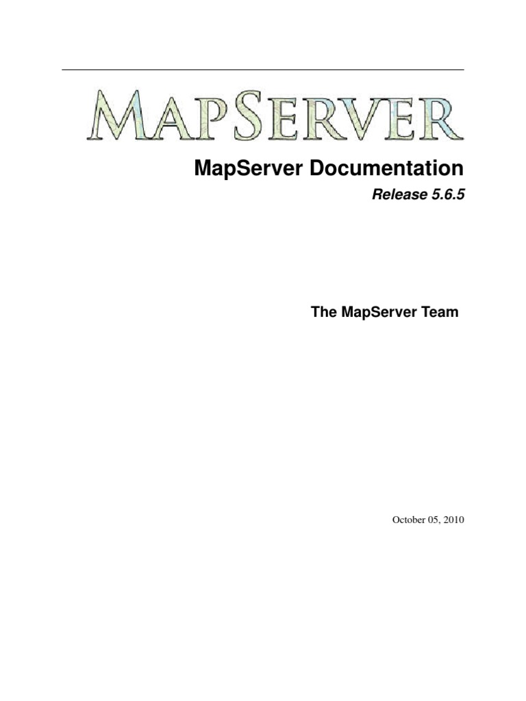 MapServer | Web Server | Software Engineering