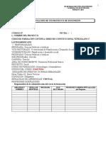 PROYECTOS DE EXTENSION cursos