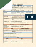 Plan de Sesión de Clases 09 Técnicas