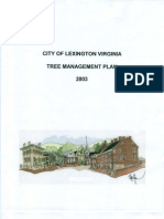 Tree Management Plan 2003