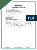 FORMAS DE CORROSION