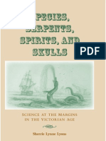Sherrie Lynne Lyons, Species, Serpents, Spirits, And Skulls. Science at The Margins in the Victorian Age