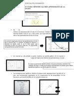 RESUMENES DE CLASES DE CALCULO NUMERICO
