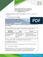 Guía de Actividades Unidad 1 - Tarea 2 - Diagnostico Territorial