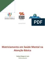 Webpalestra_Matriciamento Em Saúde Mental Na AB