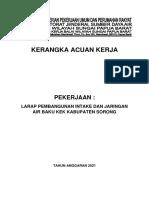 6. KAK LARAP Pembangunan Intake dan Jaringan Air Baku KEK SorongOK(1)