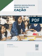 Livro Sobre Sociologia (Ciências Sociais) Na Pedagogia.anotações1