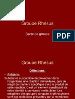 Groupe Rhésus