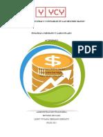 Finanzas a Mediano y Largo Plazo DAYANA