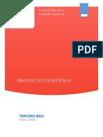 Tercero Segundo Semana. Proyecto Interdisciplinar Científico Semana 2 Tercero Bgu