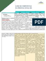 Matriz de Competencias, Capacidades, Estandares y Desempeños Ok Originl