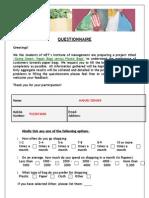 RM Questionnaire_Original