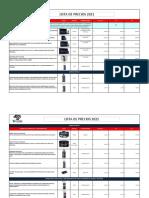 Lista de Precios Tonyin 2021 - 2n