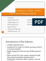 Porters for Indian Pharma