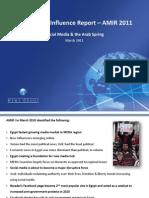 Arab Media Influence Report  - Mar2011