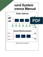 Sound System Reference Manual