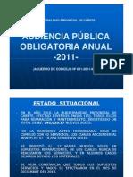 GESTION ALVARADO-ESPINOZA Y LAS OBRAS FANTASMAS