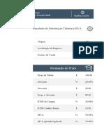 1 - Simulador de Cálculo de Substituição Tributária + Formação de Preço de venda