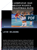 Teknik Lompatan Dan an Wanita Dalam Volleyball Elite