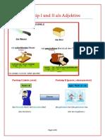 Partizip I Und II Als Adjektive