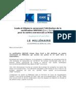 Icade Certification Breeam Centre Commercial Le Millénaire