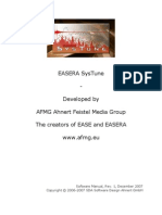 EASERA SysTune Manual