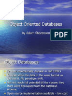 003.01 Stevenson Object Oriented Databases June 2005