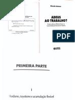 Ricardo Antunes - Adeus ao Trabalho - parte I