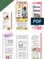 PublicaciónSemana cultural