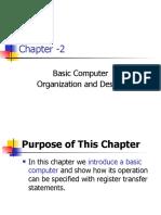 CH-2 Basic Computer Organization